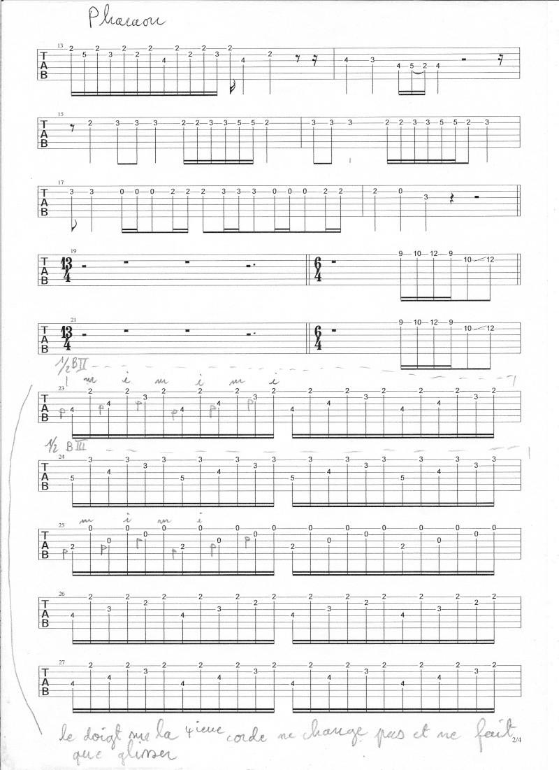 cordes - solo - pharaon gipsy king  - Page 2 Numyri11