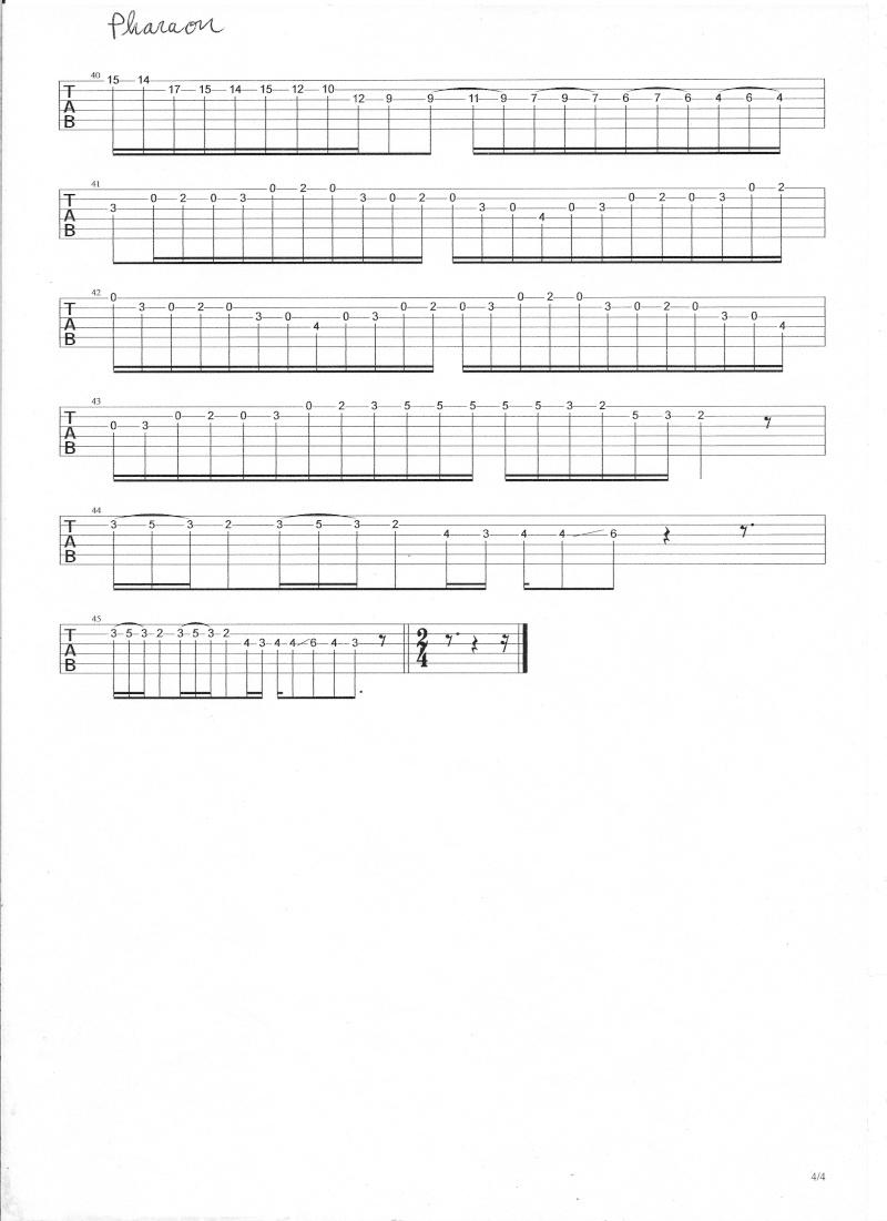 cordes - solo - pharaon gipsy king  - Page 2 Numyri12