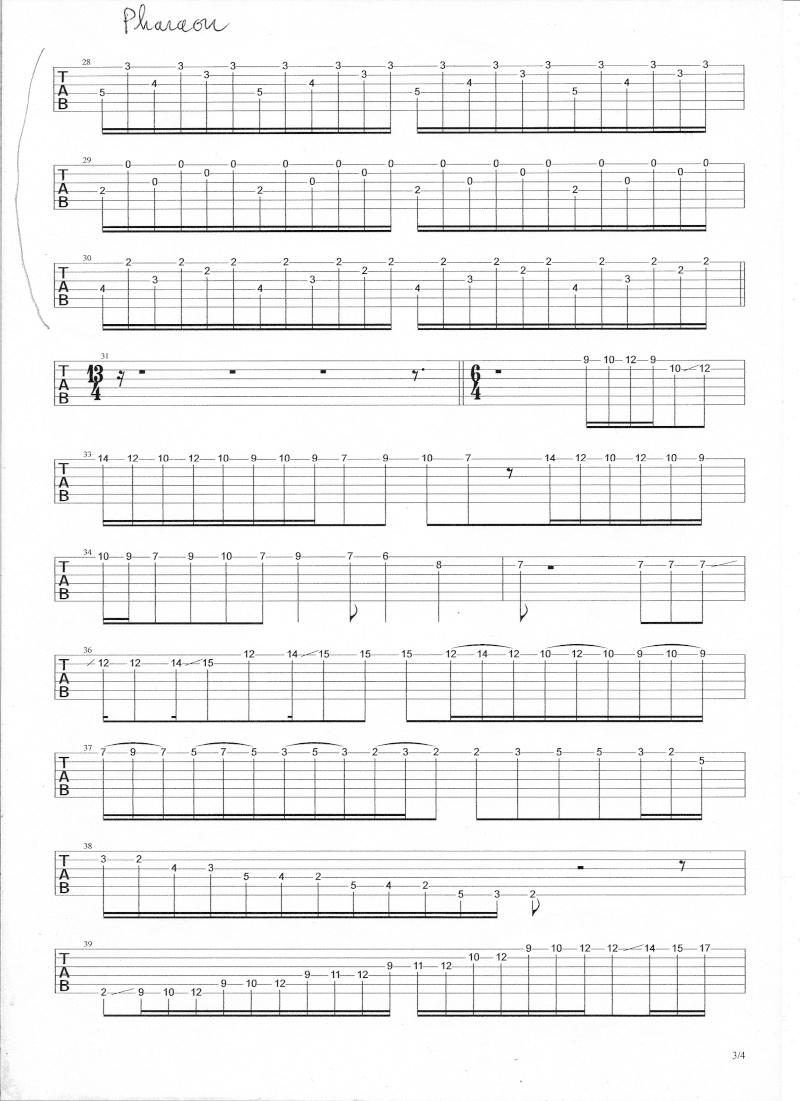 cordes - solo - pharaon gipsy king  - Page 2 Numyri13