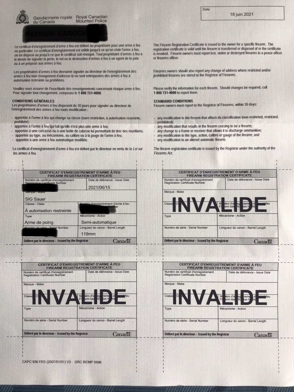 Certificat d'enregistrement  2c6ab210