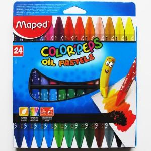 color peps oil pastels Olejov10