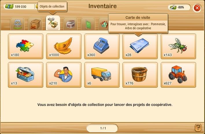 FONCTIONNEMENT DE LA COOPERATIVE Invent11