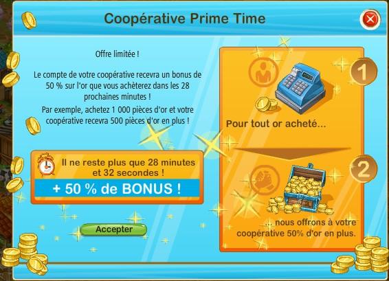 FONCTIONNEMENT DE LA COOPERATIVE Prime10