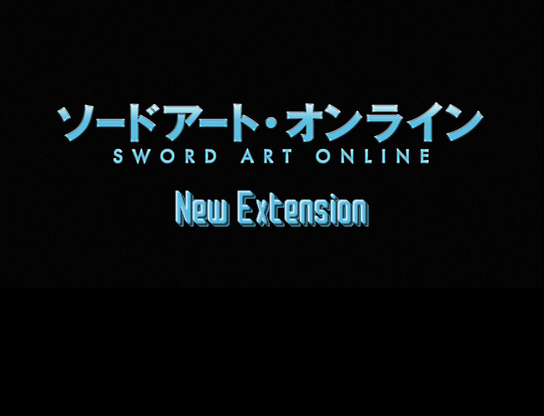 Sword Art Online: New Extension Sao10