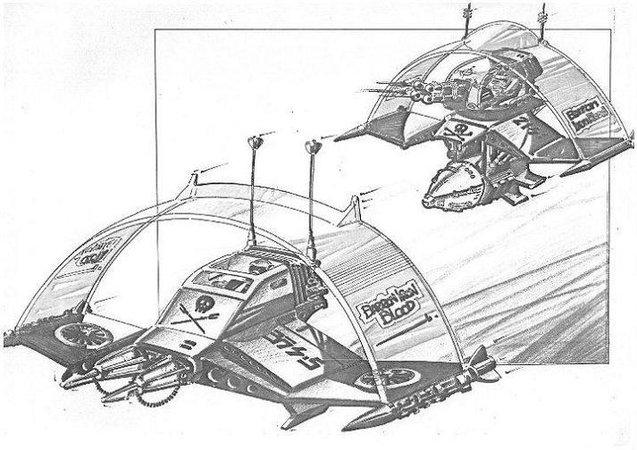 Action Force concept art Eddie810