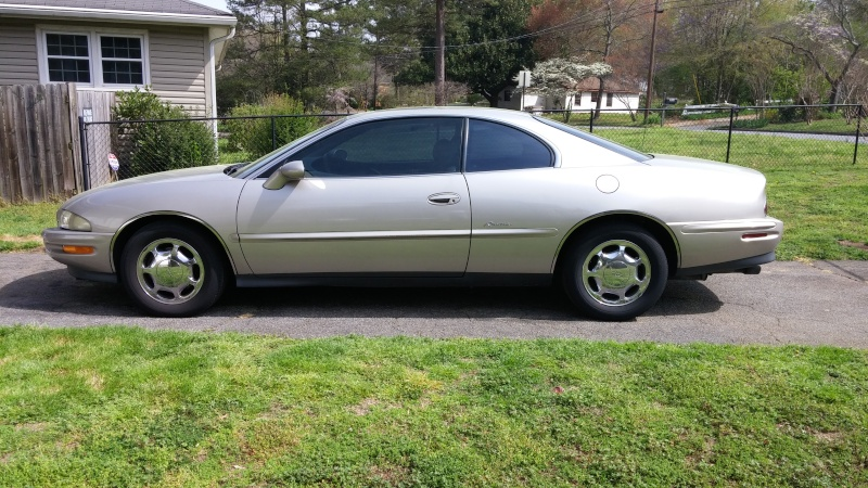 My new 1997 Buick Riviera 03251611