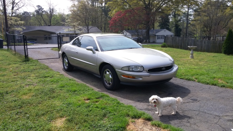 My new 1997 Buick Riviera 03251612