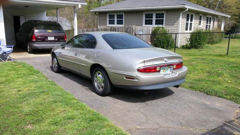 My new 1997 Buick Riviera 03251614