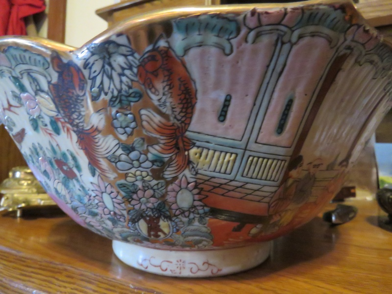 need help identifying an oriental bowl and cup Img_0014