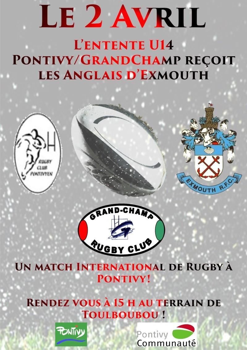 Match U14 Grandchamp/Pontivy contre Exmouth ! Affich10