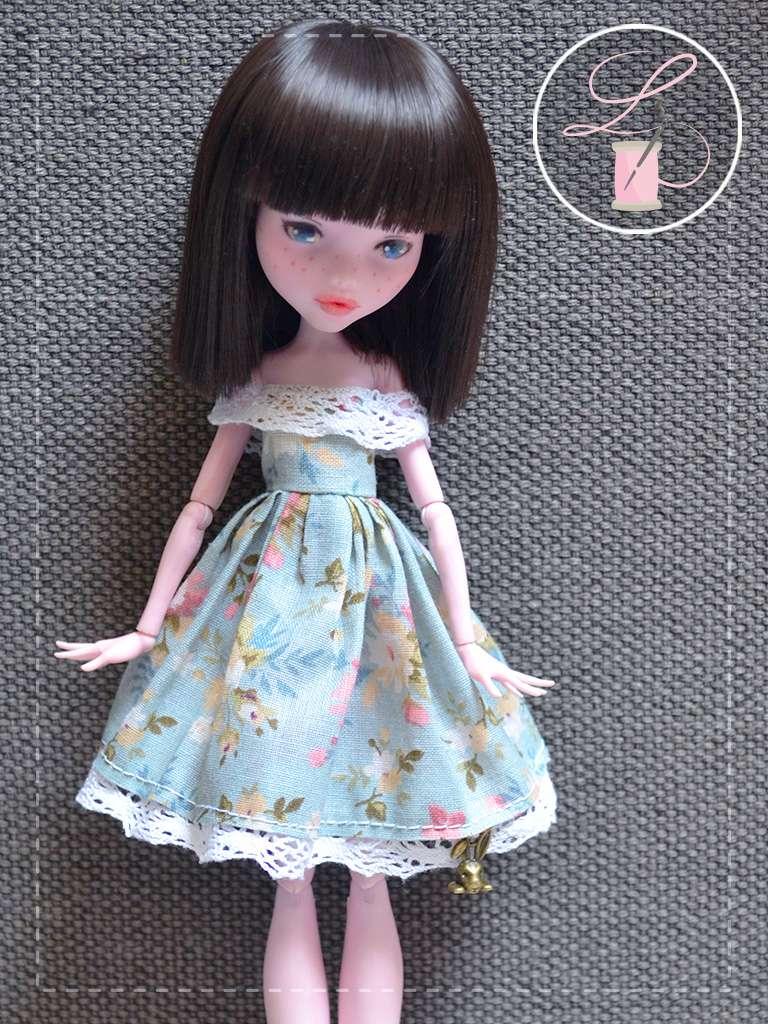 LullaCréation - robes pour Monster high, Pullip, Hujoo Mc111