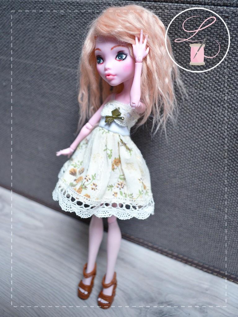 LullaCréation - robes pour Monster high, Pullip, Hujoo Mc210