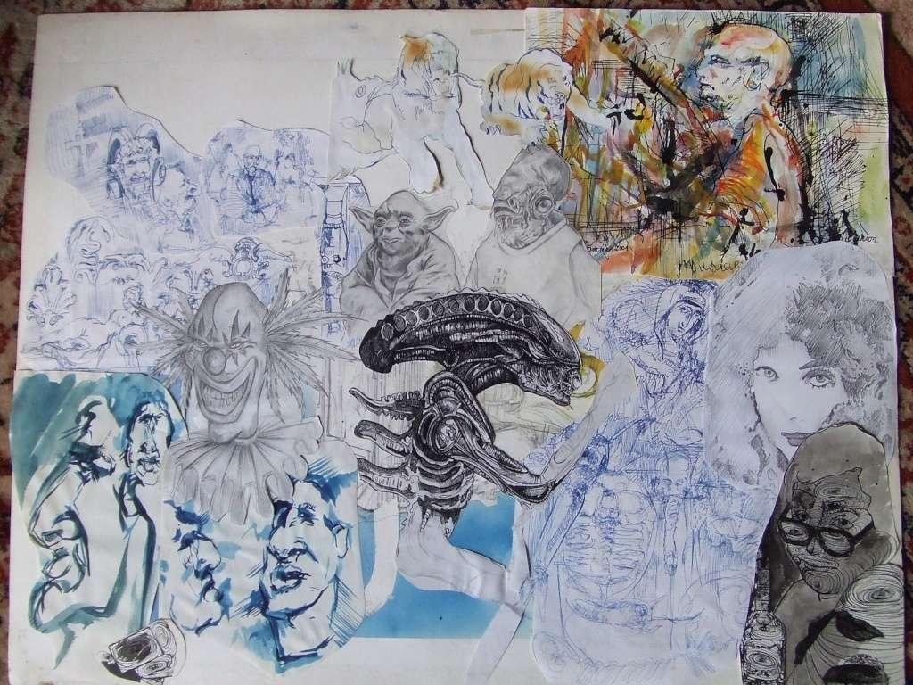 Croquis et autre - Page 3 Alien_11
