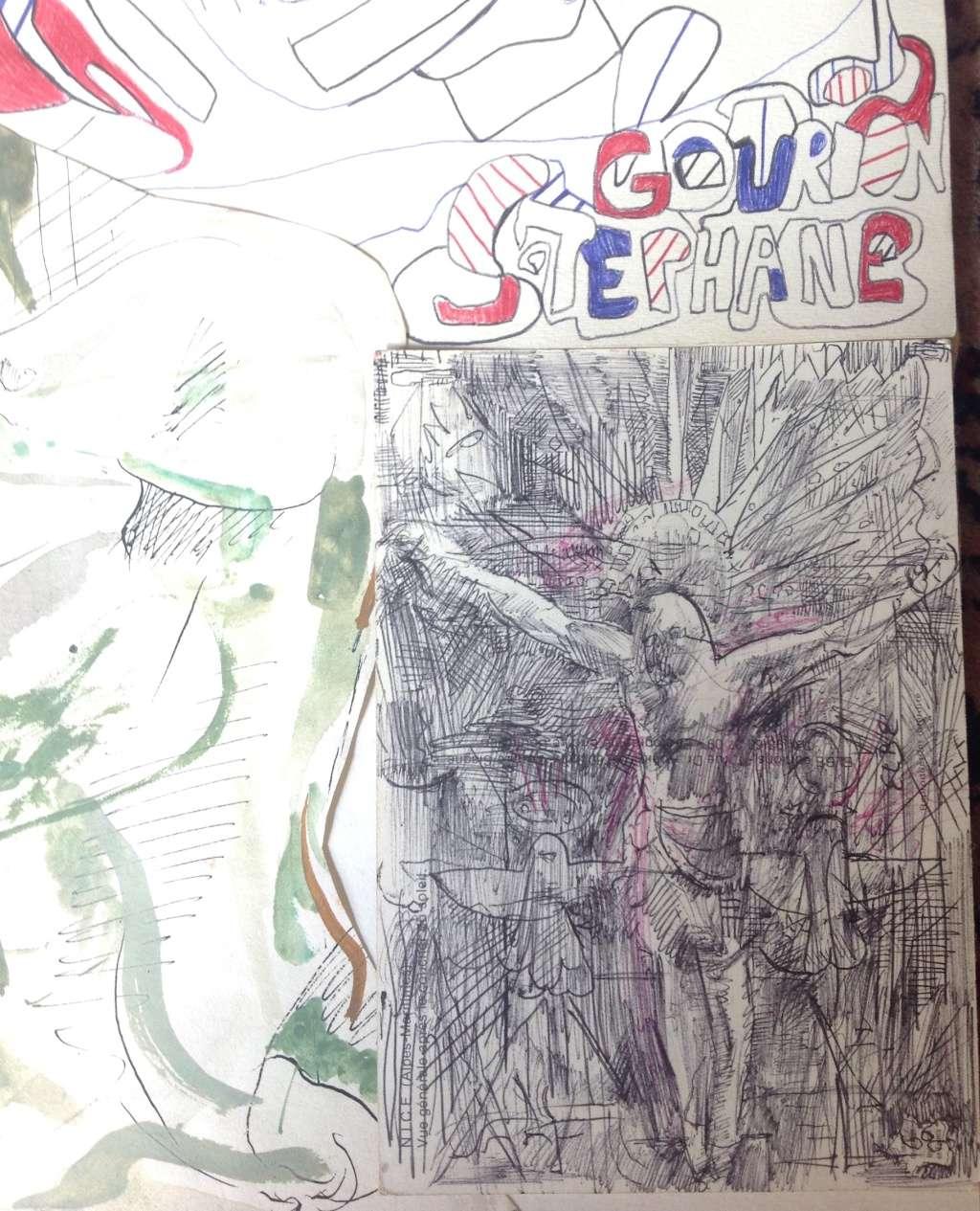 Croquis et autre - Page 3 Christ10