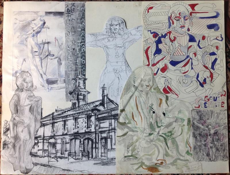 Croquis et autre - Page 3 Collag10