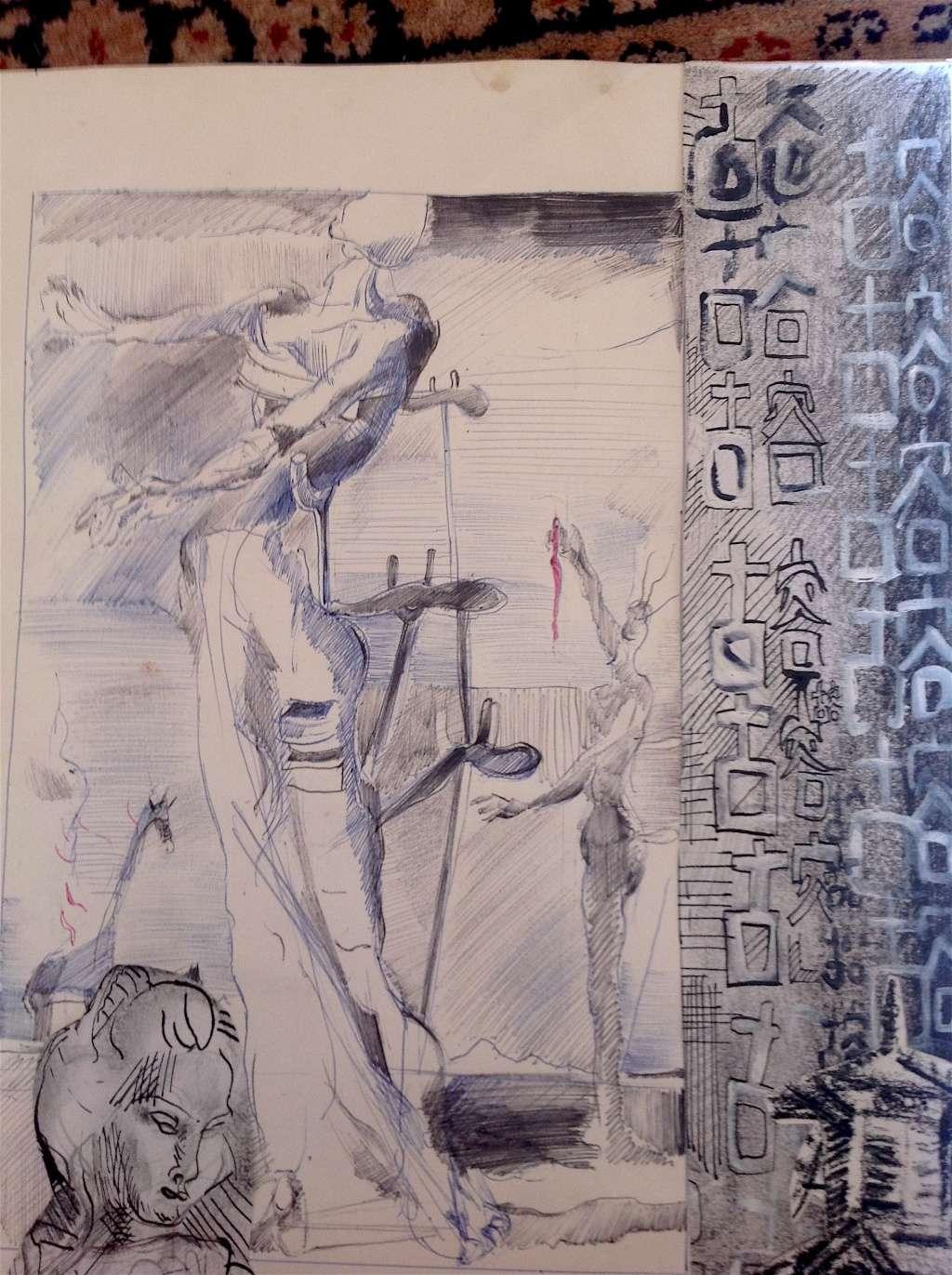 Croquis et autre - Page 3 Dali10