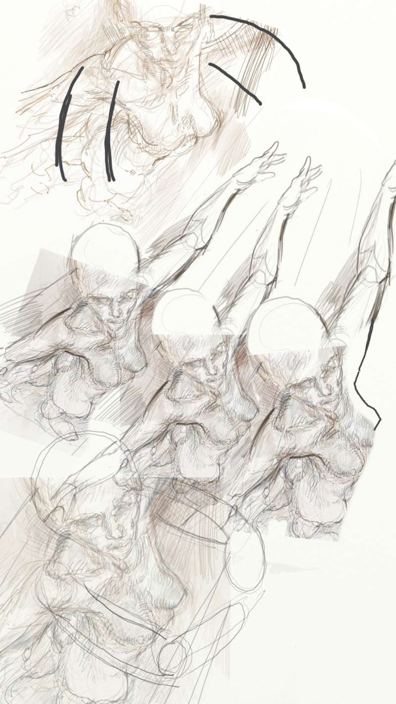 Croquis et autre - Page 7 Danseu10