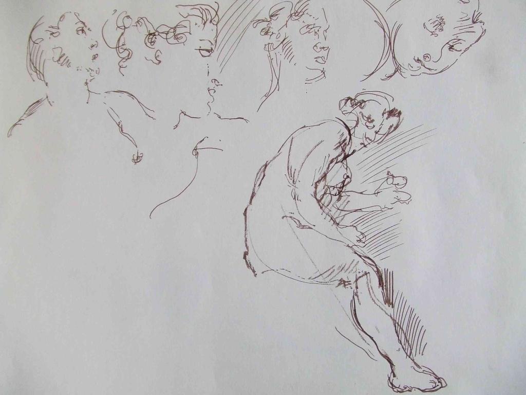 Croquis et autre - Page 2 Femme_10