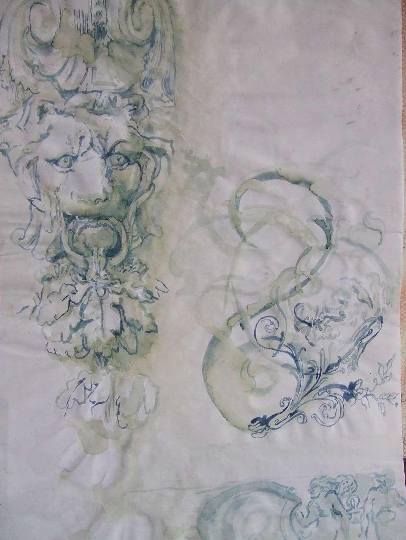 Croquis et autre - Page 22 Lion10