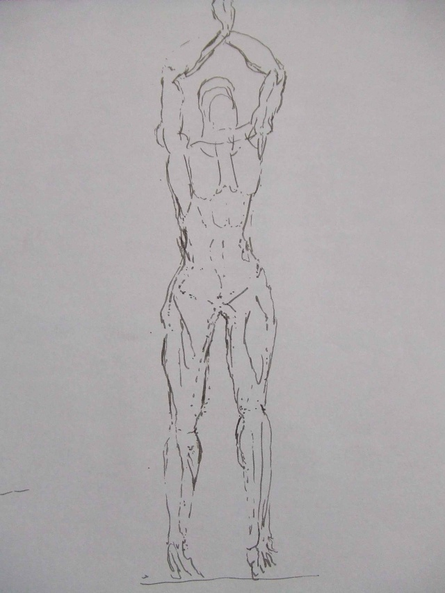 Croquis et autre - Page 5 Yoga_310
