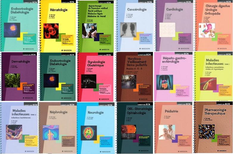 Livres Médicales - Collection Carnets Des ECN (18 livres) Collec11