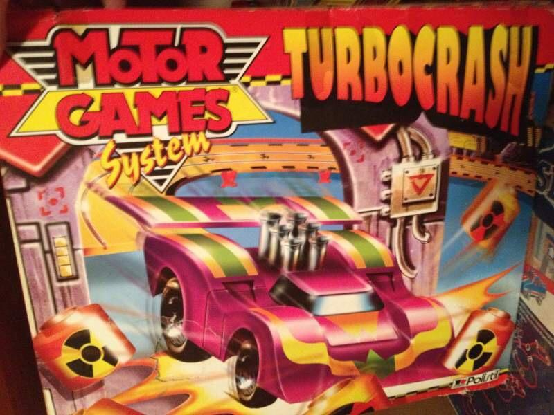TURBOCRASH motorgame system Polistil Img_9343