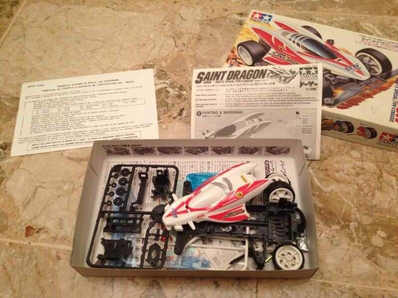 TAMIYA MINI 4WD SAINT DRAGON 18029 RICKY'S SPECIAL Img_9348