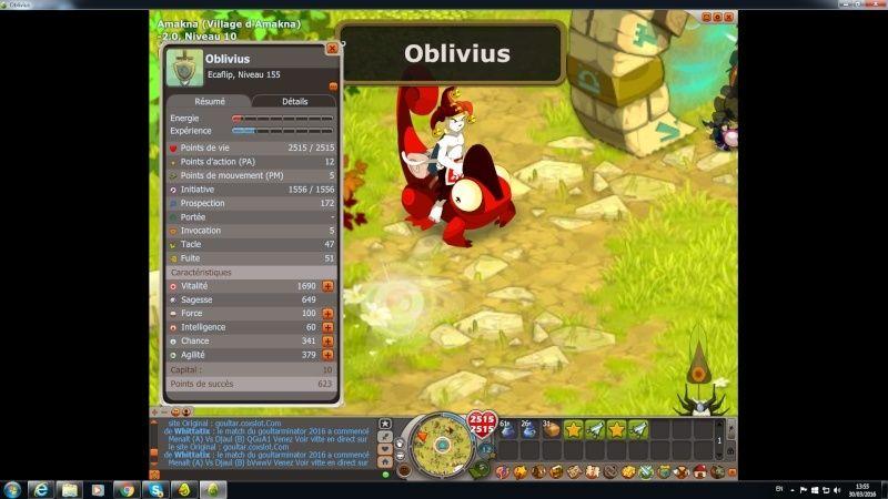 candidature de oblivius ami de overpower irl Dofus10