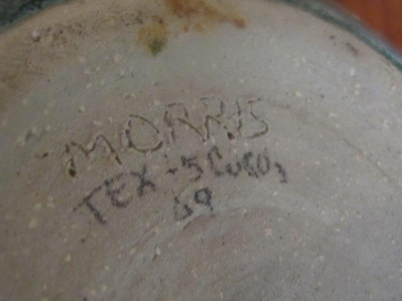 D. Morris Pottery - David? La Paz? Potter21