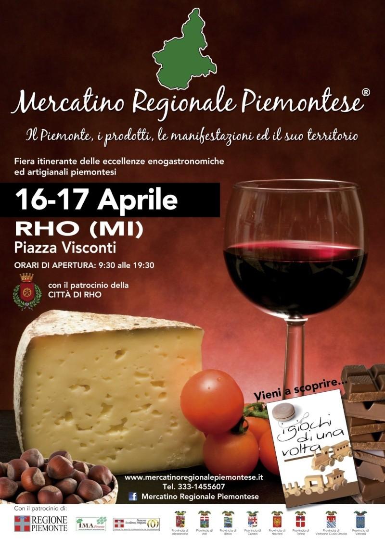 MERCATINO REGIONALE PIEMONTESE - 16/17 aprile RHO (MI)-PIAZZA VISCONTI Immagi11