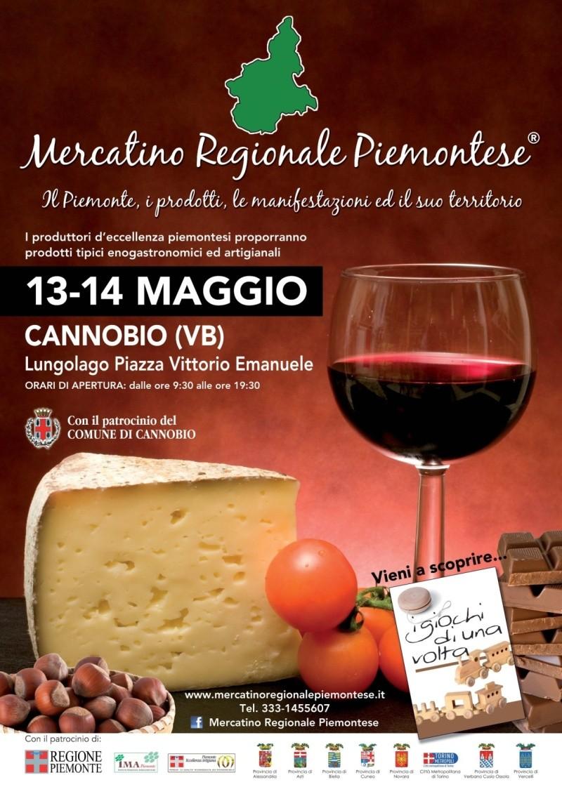 mercatino - MERCATINO REGIONALE PIEMONTESE - CANNOBIO (VB) 13/14 MAGGIO - LUNGOLAGO Immagi15