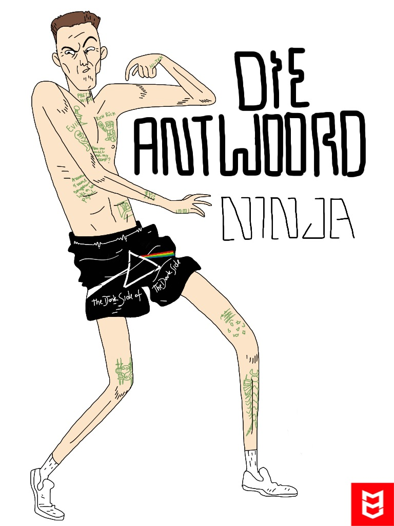 ZEF ZEF ZEF DIE ANTWOORD ZEF SIDE  Ninja_10