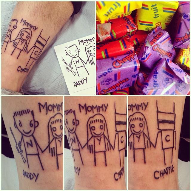 Die Antwoord Fan Tattoos Tumblr15