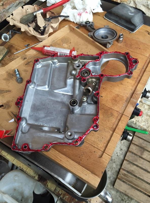 Réparation bloc moteur percé Img_5318