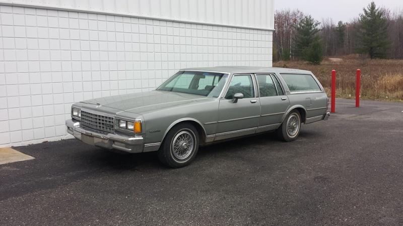 1984 Caprice Header Panel  10425010