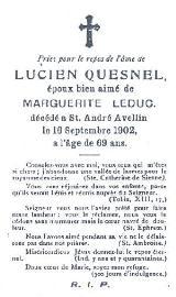 Francois Quesnel 00151710