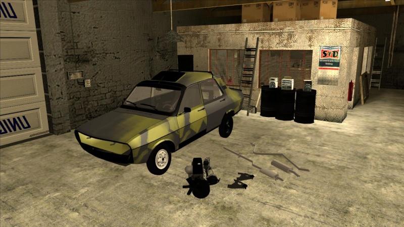 Dacistu's garage ! Galler24
