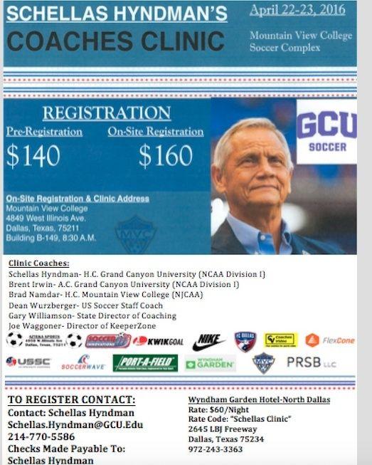 Schellas Hyndman Coaches Clinic - Register Now! Screen12