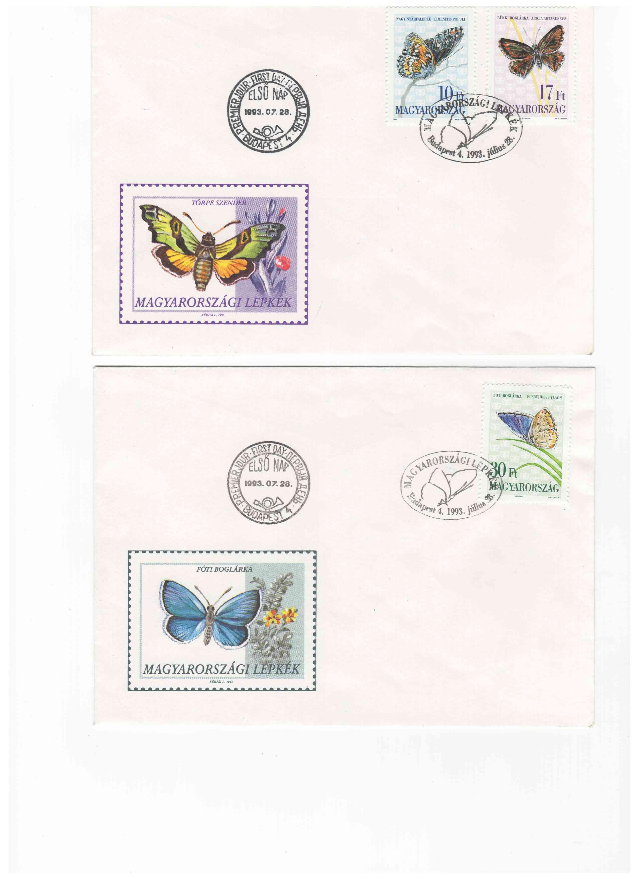 Biete: Ersttagsbriefe und -blätter DDR, BRD, Ungarn Img10810