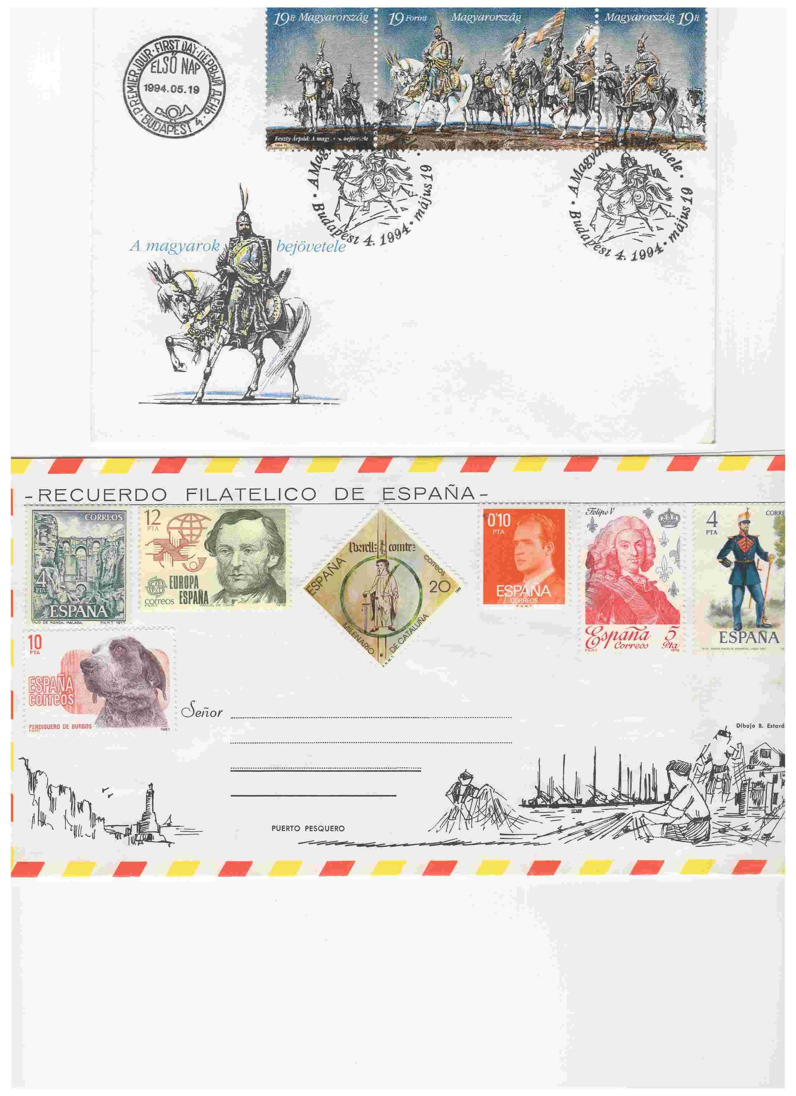 Biete: Ersttagsbriefe und -blätter DDR, BRD, Ungarn Img11810