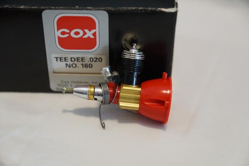 Cox Tee Dee .020 Engine (Cox No.160) Appears NIB - $100 shipped CONUS Dsc00618
