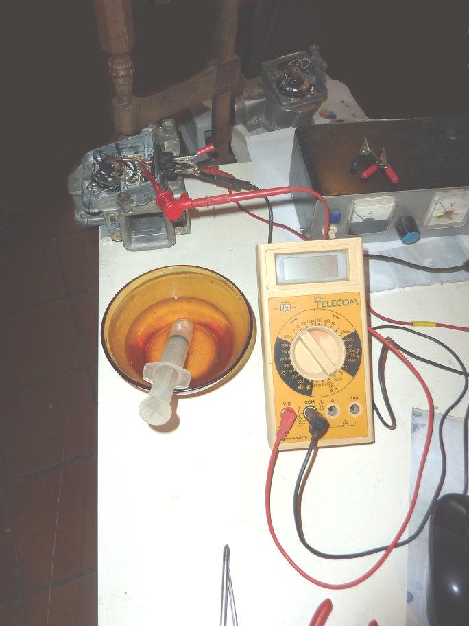 Bosch air flow meter restoration: summary Boscha10