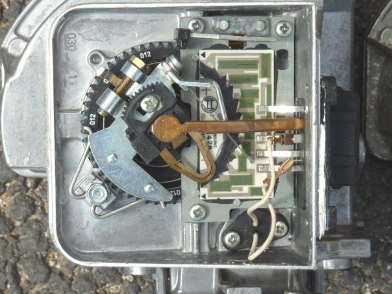 Bosch air flow meter restoration: summary Boscha16