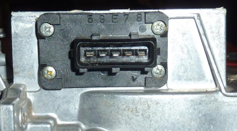 Bosch air flow meter restoration: summary Boscha19