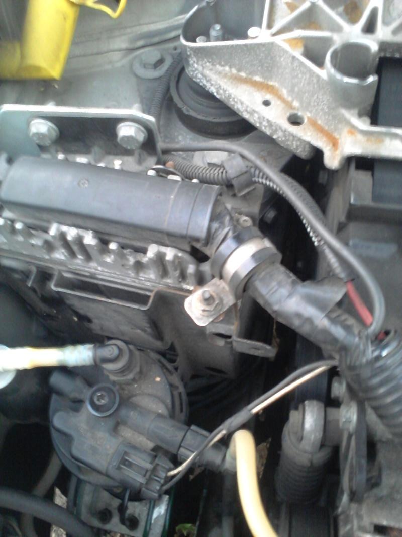 Panne d'essence Renault Mégane 1 DTI 1.9L  20160415