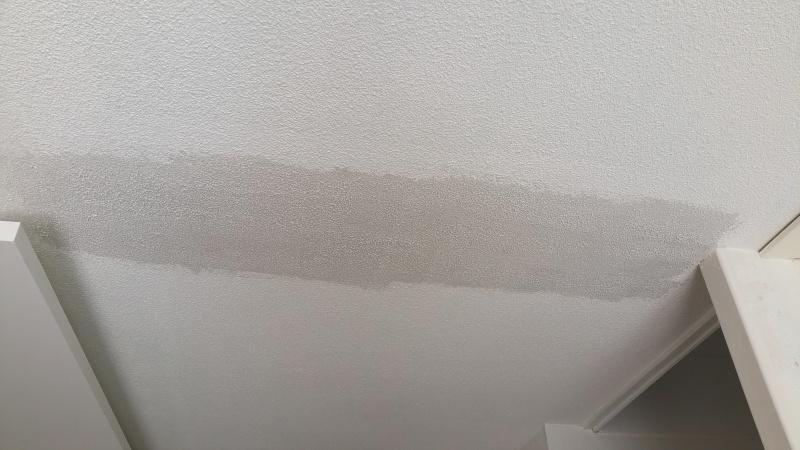 Rénovation plafond en goutellette suite suppression cloisons 2016-012