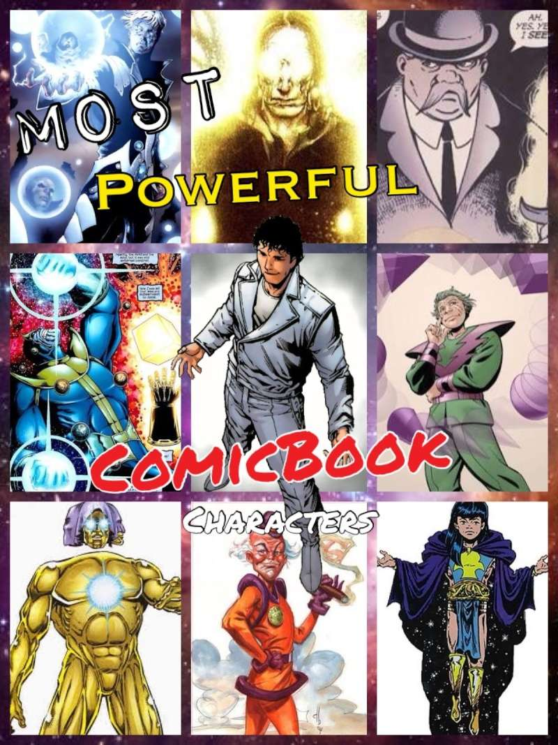 Who do you think are the most powerful comic book characters? Image18
