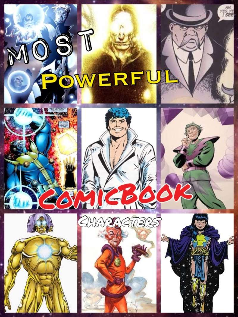 Who do you think are the most powerful comic book characters? Image19