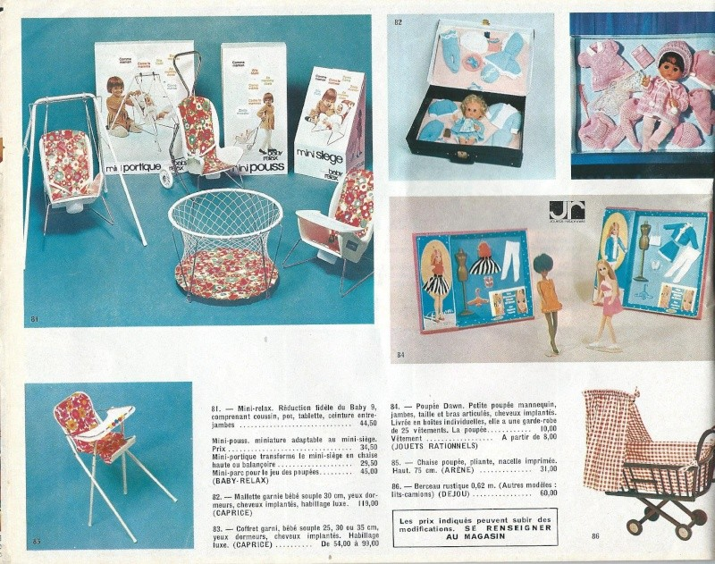 Catalogue Noël 1971 des Galleries de Juvisy Galeri15