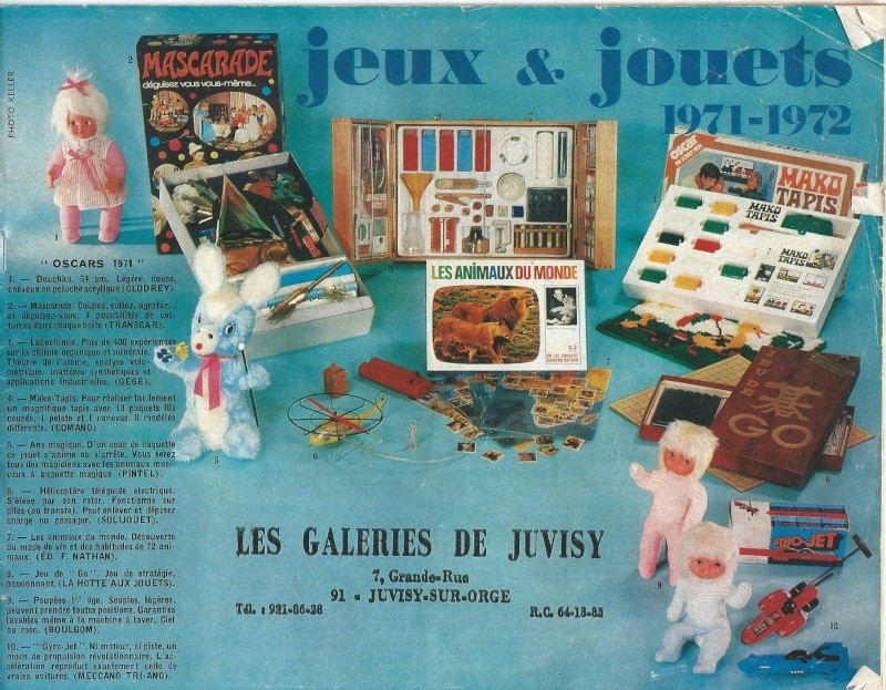 Catalogue Noël 1971 des Galleries de Juvisy Galeri16